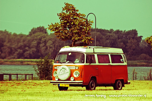 Hippie Van with a change of