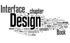 Design book proposal thru Wordle