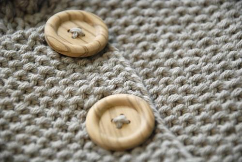 Seed Stitch Baby Jacket 2