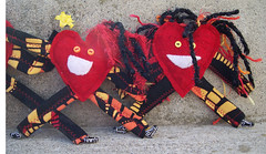 Heartman plushies (2)