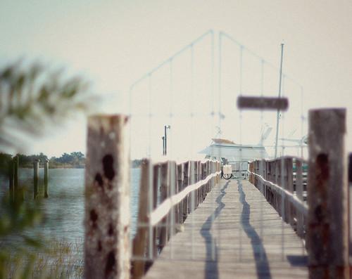 A dock gate