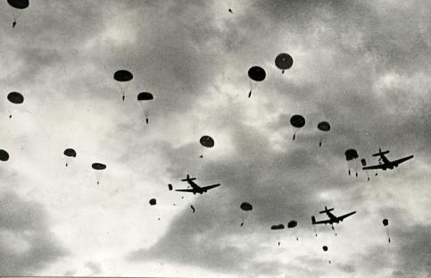 Second World War. Airplanes