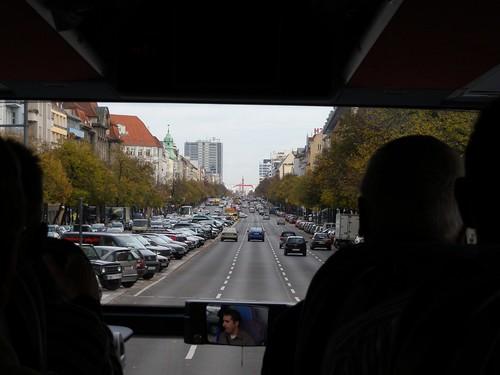 Auf dem Weg zum Hotel