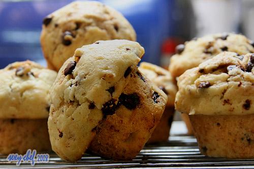 muffin choco chip