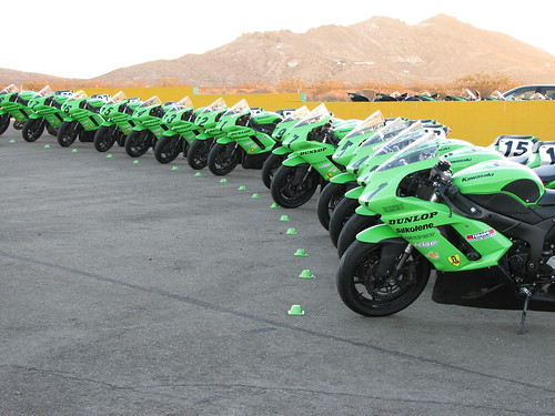 The ZX-6R Fleet Ready For Action