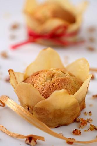 Pear - Pecan Cakes