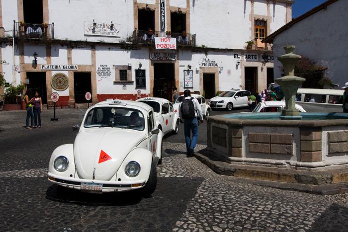 vocho en Taxco