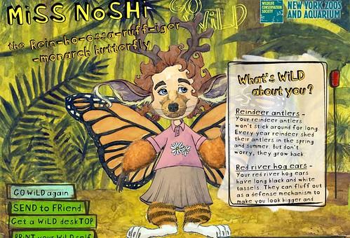 Miss Noshie at Halloween