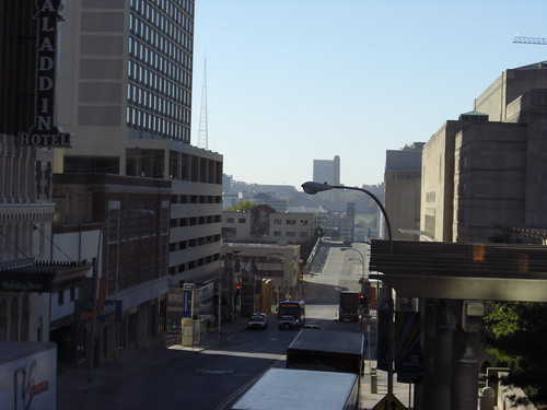 view from hotel skybridge