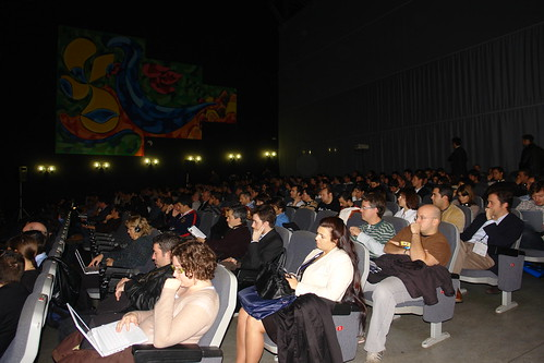 Foto del auditorio
