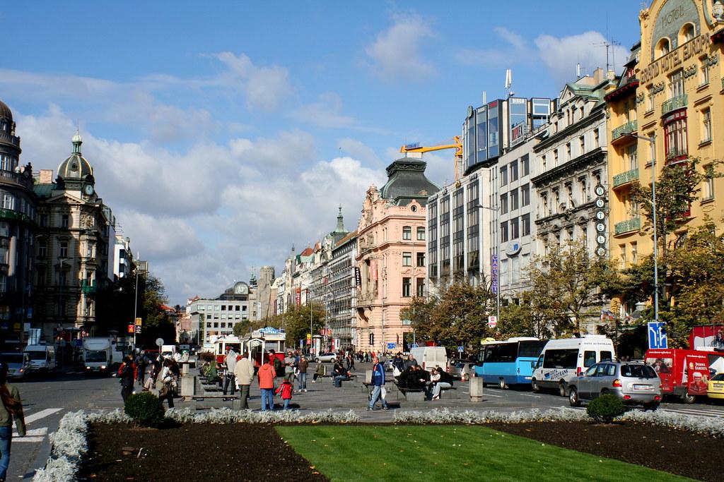 wenceslas square prague tourist guide