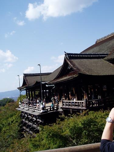 你拍攝的 清水寺。
