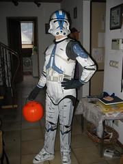 Hannah, storm trooper