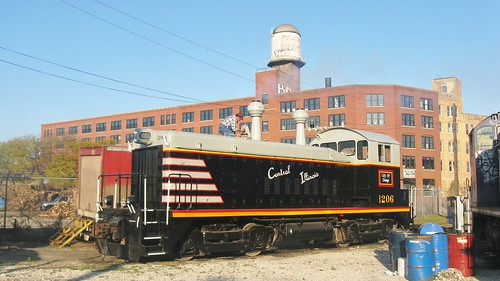 The Chicago, Burlington & Quincy Railroad Lives in 2008! ( Sort of.) Chicago Illinois. Friday, October 31st, 2008. by Eddie from Chicago