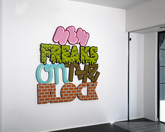 New Freaks On The Block (Greg Ewing) Tags: hello wood art type monsters typo ewing desro