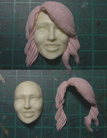 1/6 female headsculpt AFH001 Pic04