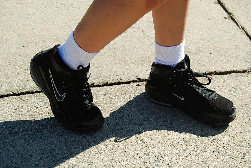 Grace's Kickin' New Basketball Shoes