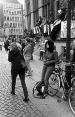 (florian_d) Tags: street leica people urban film students 35mm demo d76 demonstration 400 pro strike jupiter12 bremen 2008 m4 chm pupils adox schulstreik
