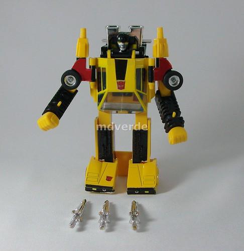 Transformers Sunstreaker G1 - modo (by mdverde)