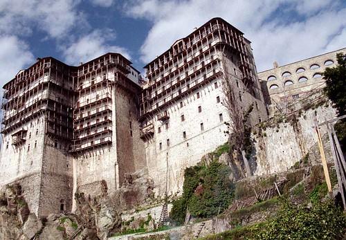 Ιερά Μονή Σίμωνος Πέτρας-Monastery of Athos: Simonopetra