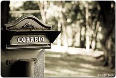Scrivi per me? (Tiago De Brino) Tags: sepia de nikon mail preto tiago carta usp lettera posta ribeirão correio brino d40x