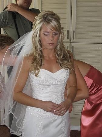 lovely long locks, long wedding hair