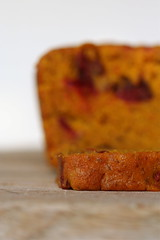 Kabocha Cranberry bread 4