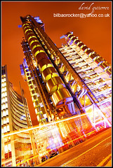 London Lloyds Building: The Future is Bright at Night... (david gutierrez [ www.davidgutierrez.co.uk ]) Tags: city uk greatbritain travel england urban building london architecture night skyscraper buildings dark spectacular geotagged photography is interestingness arquitectura cityscape darkness angle bright unitedkingdom britain dusk sony centre perspective cities cityscapes center structure architectural explore normanfoster nighttime future londres highrise architektur nights sensational metropolis rogers alpha topf100 londra impressive futuristic lloyds dt offices nightfall lloydsbuilding municipality edifice the centrallondon willisbuilding f4556 100faves 1118mm thefutureisbright sonyalpha sonydslra350 sony1118mm sonyalphadslr350 sonyalphadt1118mmf4556lens sonyalphadt1118mmf4556 sony350dslra350