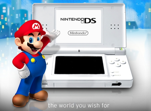 Mario Helps Holiday Shoppers