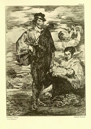 017- Edouard Manet- Los Gitanos