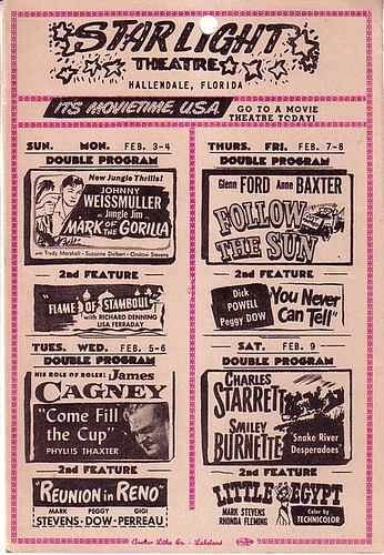 STARLIGHT THEATRE program