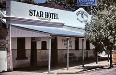 gm_00936 Star Hotel, Yackandandah, Victoria (CanadaGood) Tags: white color colour building beer analog star hotel pub australian australia victoria slidefilm vic streetphoto kodachrome eighties 1985 yackandandah canadagood slidecube