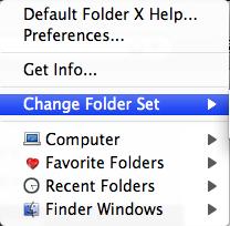 Default Folder X1