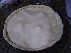 Apple Pie- before baking