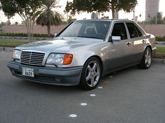 Mercedes-Benz 500E 1991 (q8500e) Tags: hot sexy mercedes benz power bmw kuwait v8 csi q8 gtg w124 635 e500 badboyclub w211 w107 kuwaittower 500e q8i q8500e