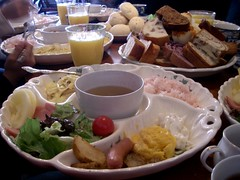 朝食のメインディッシュ