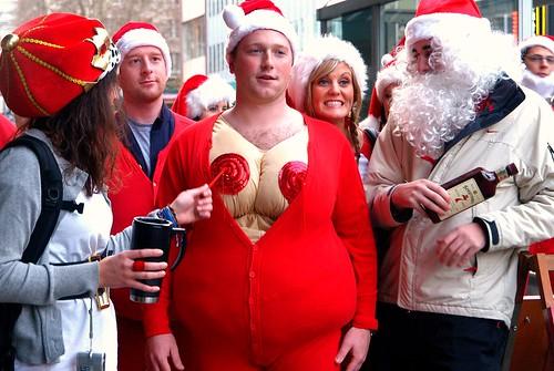 Santa boobs