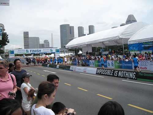 Singapore Marathon 2008 - End Point @ 6+ hours
