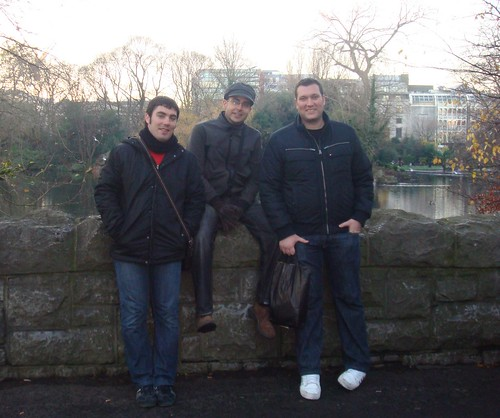 En Stephens Green por ti.