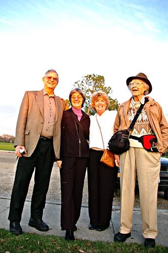 Duncan, Helene, Joan and Gerry