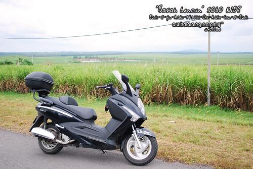Basah Lencun Ride : Ladang Tebu Chuping #1