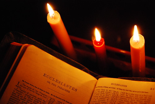 Ecclesiastes by Candlelight
