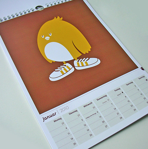 Estrenamos calendario. Foto de: Lindedesign