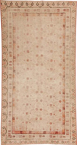Antique Khotan Oriental Rug #44547 by Nazmiyal Collection