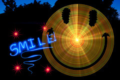 SMILE! :-) (TxPilot) Tags: longexposure light lightpainting art smile night painting photography lights graffiti nikon long exposure paint bright led lap lighttrails movinglights lightgraffiti microcontroller arduino lightpaint lightemittingdiode lightstrip d700 lightgraf lightartphotography arduinomega hl1606 programmablergbledlightstrip thiswasapitatoprogram programmablelightstrip rgbledaddressable digitallightwand