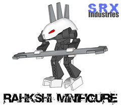 SRX Rahkshi Minifigure (Jonatha .) Tags: game brick arms lego fig mini figure minifig forge shape bionicle ways picnik industries minifigure srx legit rahkshi brickarms brickforge shapeways srxindustries