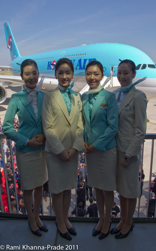 Korean Air A380-800 Delivery Ceremony