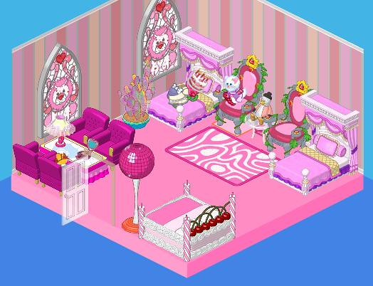 how to delete bedroom on webkinz