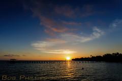 Bokeelia Sunrise (tropicdiver) Tags: gulfofmexico clouds sunrise pier florida pineisland pineislandsound bokeelia