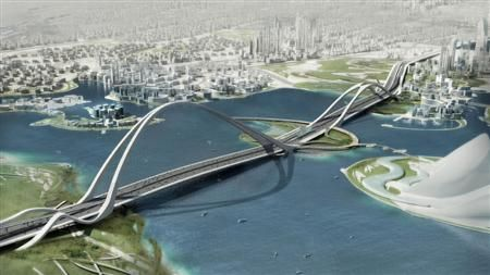 Dubai: the world's longest arched bridge
